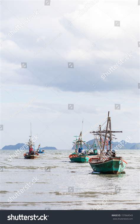small boat cost small fishing boat coast stock photo 157664543 shutterstock