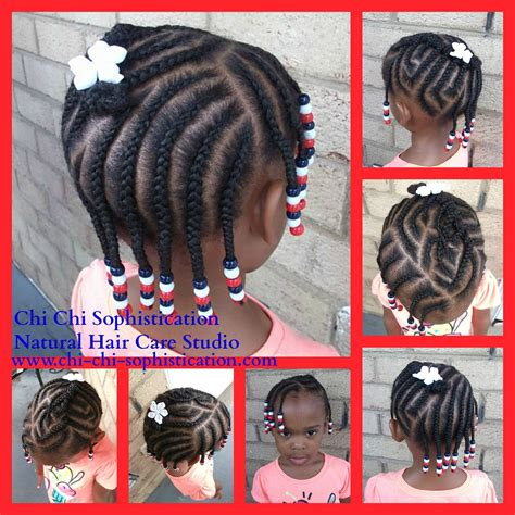 natural hair braids for kids fourth of july hairstyles 4th of july inspired hairstyle cornrows red white
