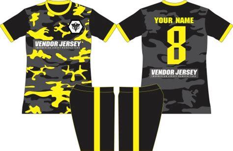 jersey futsal desain depan belakang kerah jersey futsal desain depan belakang
