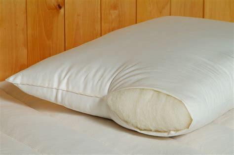 Organic Wool Pillows by Organic Pillows Organic Wool Pillow