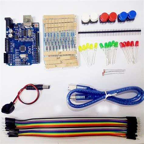 Starter Kit Uno R3 Mini Breadboard Led Jumper Wire Button For Arduino 1 aliexpress buy starter kit uno r3 mini breadboard led jumper wire button for arduino from