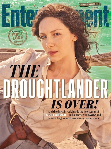magazine covers by sam fenton at coroflot com outlander tv s sexiest couple reunites in south africa
