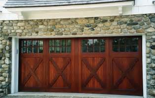 Wood Carriage House Garage Doors Installing Carriage Style Garage Doors To Improve Your Exterior Ideas 4 Homes