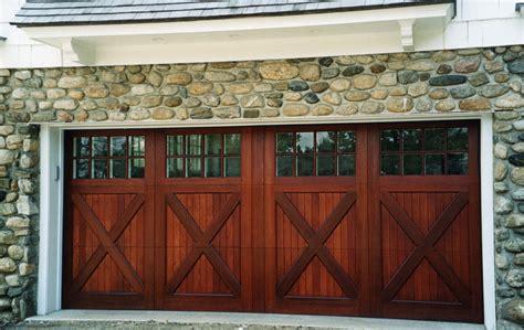installing carriage style garage doors  improve