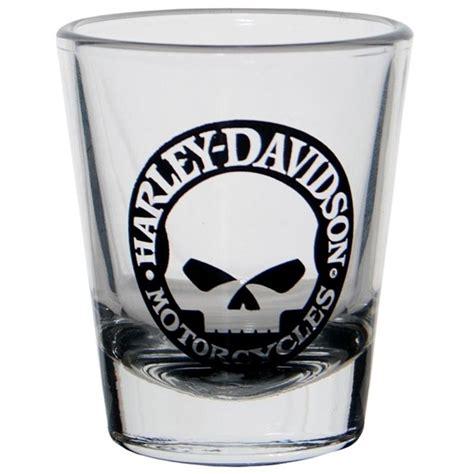 harley davidson barware harley davidson 174 skull shot glass 99226 13v harley