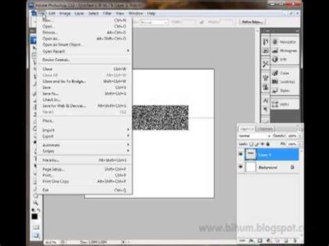 membuat barcode photoshop membuat barcode dengan photoshop mp4 youtube