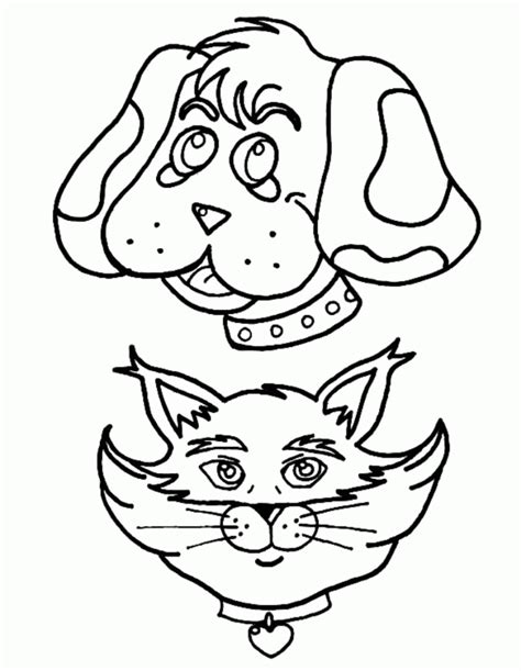 cheetah head coloring page cat head and dog head coloring pages animal coloring