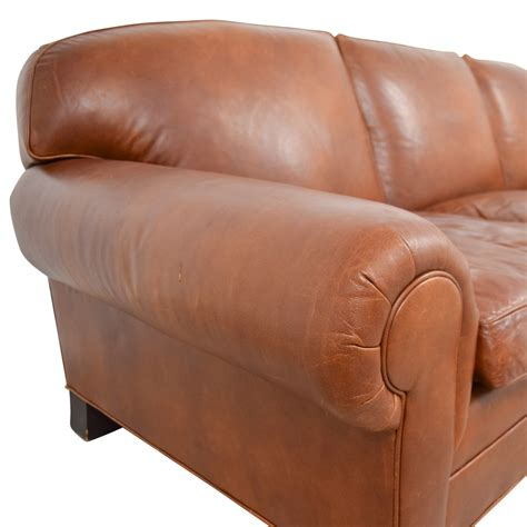 ralph leather sofa sale 88 ralph ralph burnt orange leather