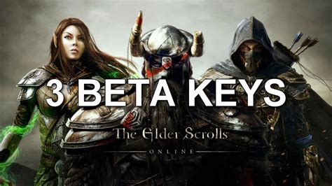 Elder Scrolls Online Beta Key Giveaway - the elder scrolls online 3 beta key giveaway youtube