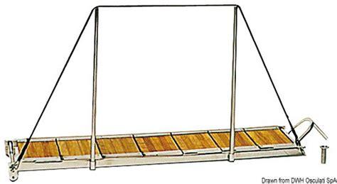 wandlen edelstahl innen edelstahl kombination gangway leiter l 228 nge 1 5m