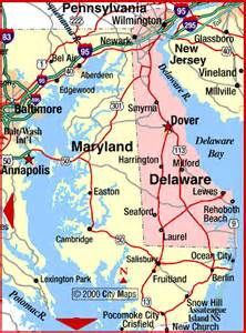 maryland delaware map road map of maryland and delaware dover maryland aaccessmaps
