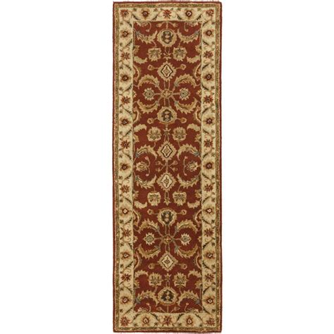 burgundy rug runner artistic weavers middleton burgundy 2 ft 3 in x 10 ft indoor rug runner awhr2054 2310