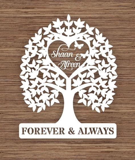 wedding papercut template 1000 ideas about personalised gifts on gifts
