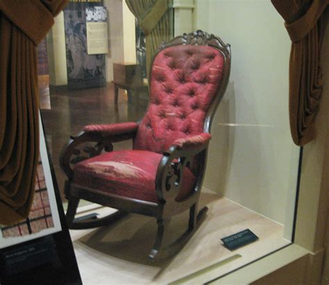 lincoln s assassination chair flickr photo