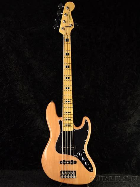 Jb 161 All Color Jumbo squier vintage modified 70s jazz bass v 新品 ナチュラル 5弦ベース