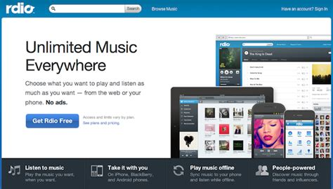 Rdio Gift Card - 22 last minute gifts you can send by email