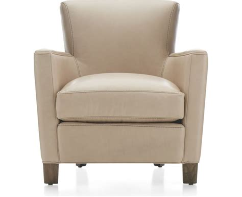 crate and barrel leather club chair briarwood modern leather club chair crate and barrel