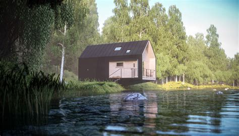 Remote Cabin Living by Moxon Architects Envision Cabins For Remote Living