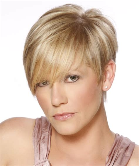 short hairstyles for round faces with double chin short short party hairstyles for fat faces and double chins