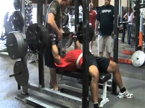 fat bar bench press elitefts fat bar bench strip set youtube
