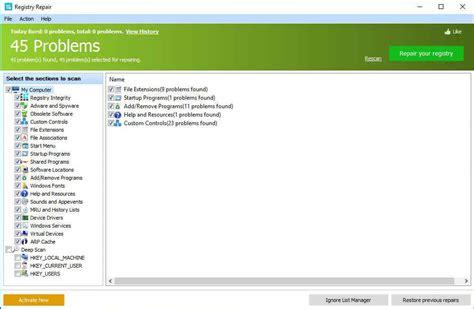 best registry repair 10 best free registry cleaners that will improve pc