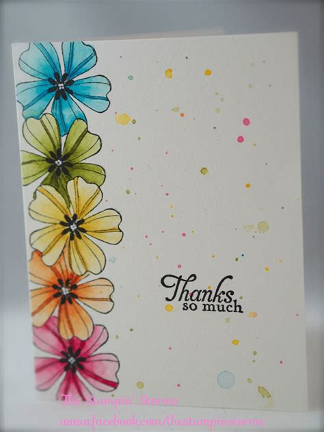 flower card ideas www thestinstorms stin up flower shop