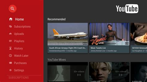 new youtube layout october 2015 download android tv youtube app updated with improved
