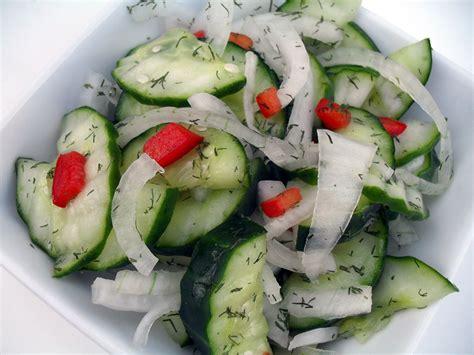 cucumber recipe cucumber salad recipe dishmaps