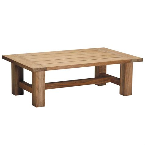 Croquet Outdoor Teak Coffee Table