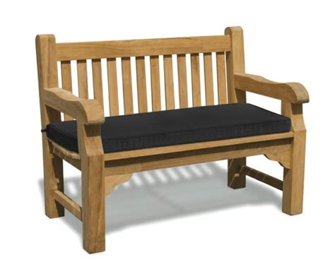 8 ft bench cushion outdoor bench cushion 4ft lindsey teak