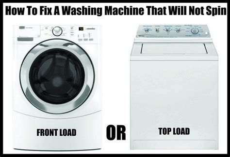 reset samsung washing machine how to fix a washing machine that is not spinning or