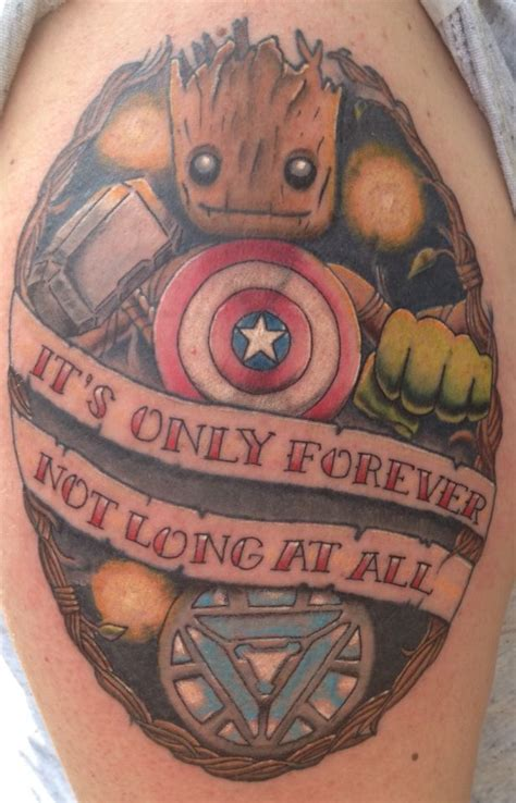 guardians of the galaxy tattoo 25 best ideas about marvel sleeve on