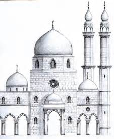 Mosque Drawing mosque drawing search results calendar 2015