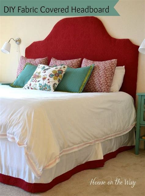 diy fabric covered headboard