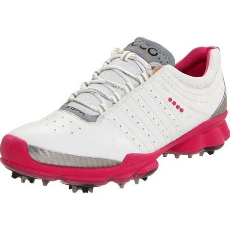 ecco ecco womens biom golf shoe  pink whitebeetroot lyst