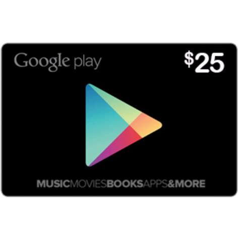 Google Play Store Gift Card 5 - buy 25 google play gift card us and download