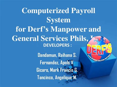 Order Technology Dissertation Introduction by Computerized Payroll System Thesis Introduction 187 Order