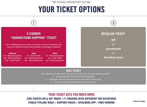 f1 tickets grand prix tickets formula 1 tickets formula 1 grosser preis von 214 sterreich 2018 2018