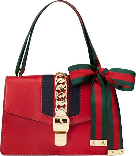 Gucci Evening Bag Purses Designer Handbags And Reviews At The Purse Page by Reviewing Fashionable Gucci Sylvie Bag For Best