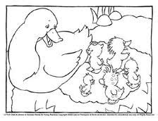 coloring pages of ducks in a pond coloring book page duck pond little quack pinterest