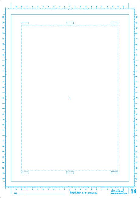 comic paper template comic book paper a4 jis beginner