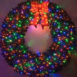 outdoor wreath with lights outdoor wreaths with lights happy holidays
