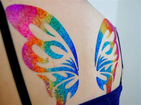 glitter tattoos guest post the crafty keeping it simple