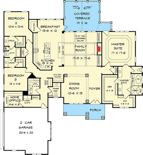 House Plans Single Level 25 Best Ideas About One Level House Plans On