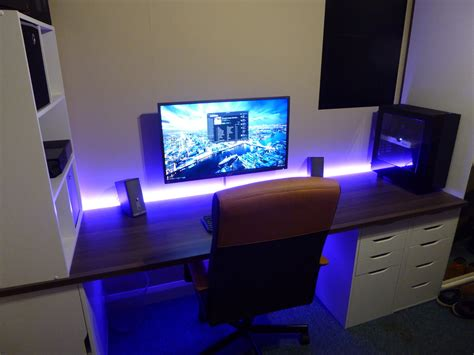 pc setups u chinds 32 4k monitor x custom desk your pc builds