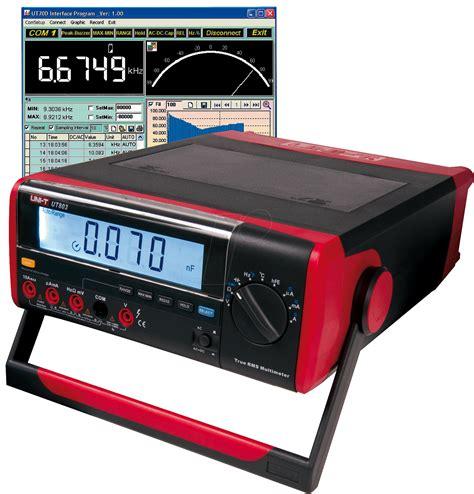 digital bench multimeter ut 803 digital bench multimeter at reichelt elektronik