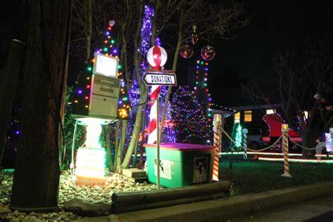 musical holiday light display benefits awla arlnow com