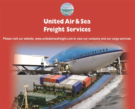 united air sea freight services the garda retired post ireland