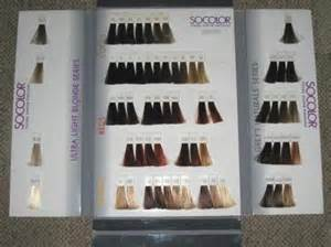 matrix so color chart matrix socolor honey creme hair color swatch book vgc
