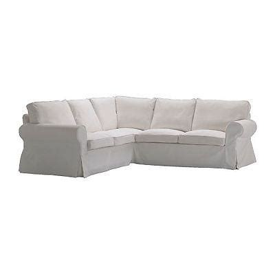 ektorp sofa cover for sale ikea ektorp slipcover for corner sofa 2 2 blekinge white